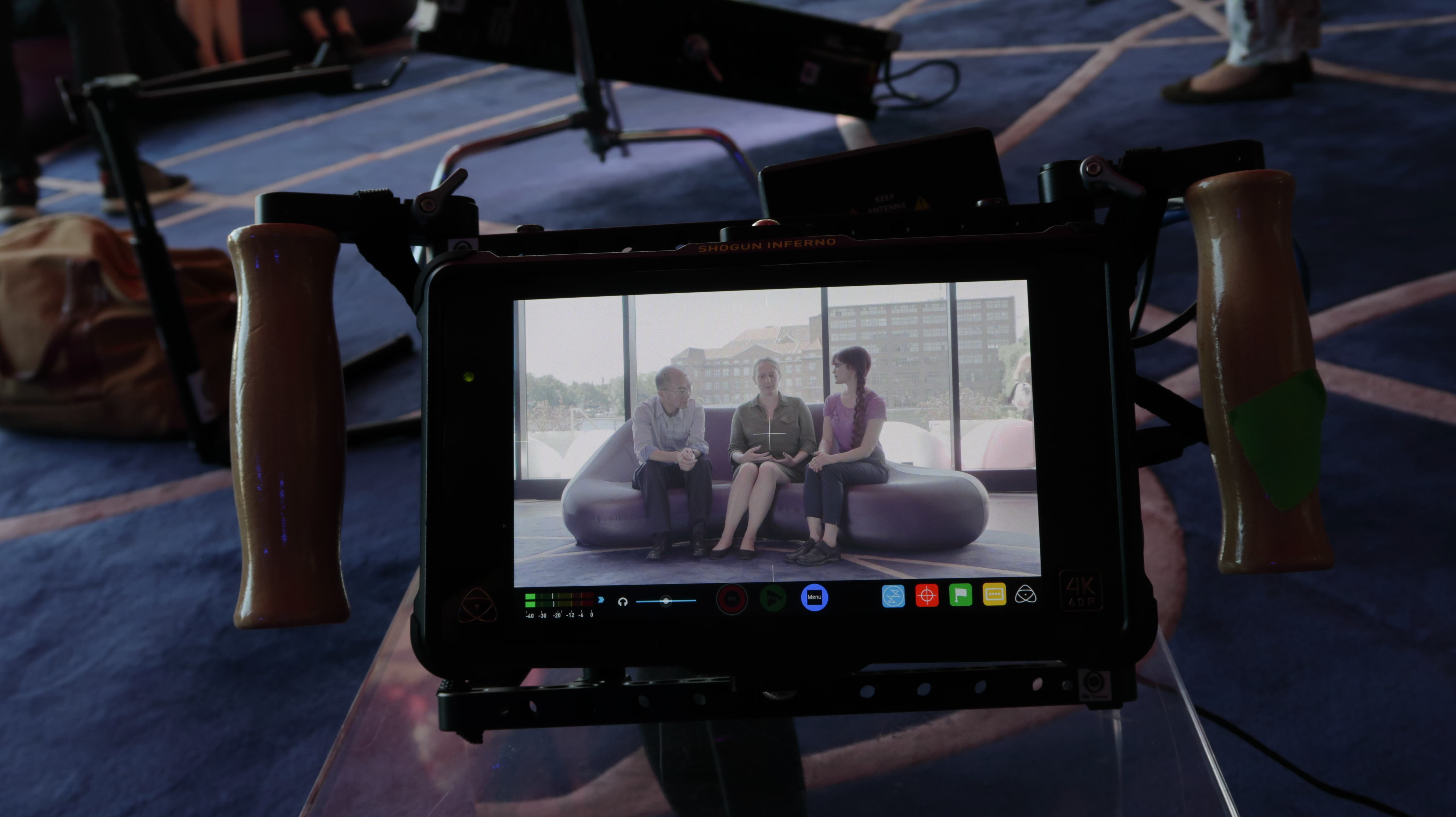 Merck filming